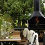 Braai Grill in eleganter Atmosphäre