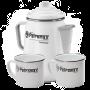 Perkomax Petromax Perkolator Vorteils-Set in weiß mit 2 Tassen