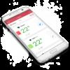 GrillEye Bluetooth Thermometer App Anzeige für dein Handy