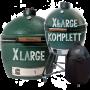 Big Green Egg Modell XLarge & Large komplett mit Untergestell, Abdeckhaube
