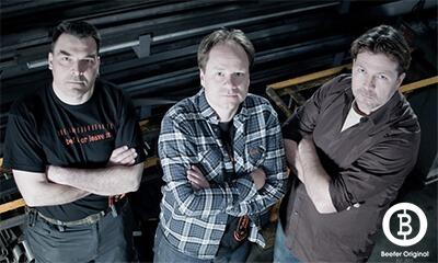 Beefer Gründerteam Frank Hecker, Marc Kirwald und Frantz Konzen