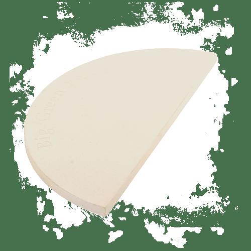 BigGreenEgg Zubehör halber Backstein für BGE Modelle L, XL