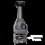 HomeFires Braai freistehender Grill mit neuem Super Cowl Kaminaufsatz und optionalem Untergestell