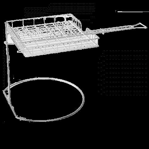 Flip'n Grate drehbarer freischwebender Grillkorb