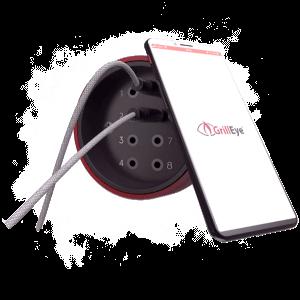 GrillEye Pro Plus mit 8 Anschlüssen für Temperaturfühler