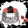 Atago Grill mit Kaffeekanne