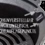 Grill Auflagepunkte für höhenverstellbaren Grillrost