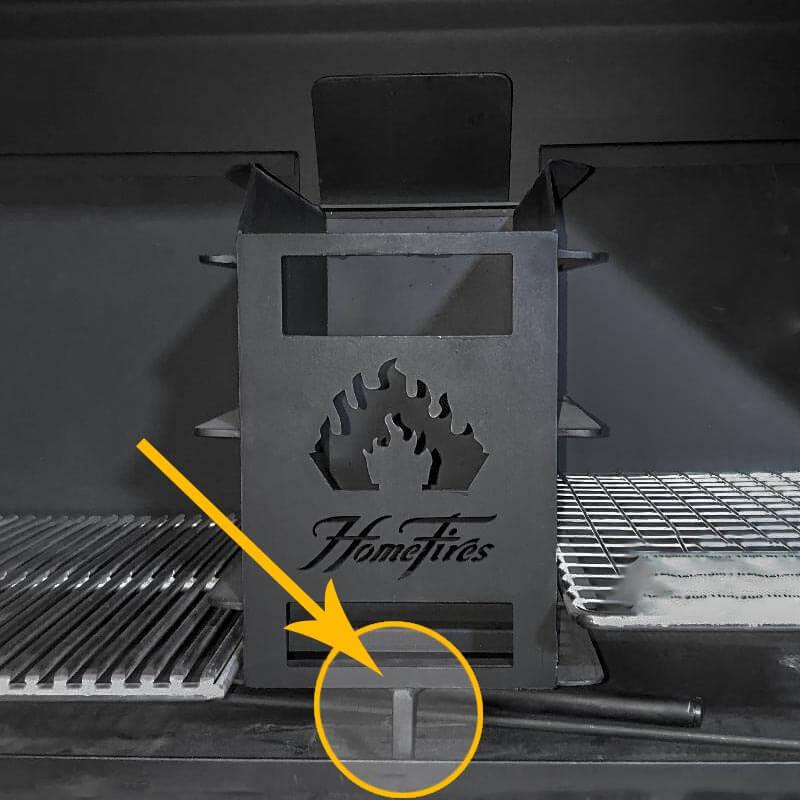 Standfuss für mehr Stabilität vom Feuerkorb im BRAAI (Embermaker Füsschen)