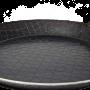 Pfanne aus Schmiedeeisen mit einzigartiger Oberflächenstruktur