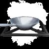 BRAAI Wokset bestehend aus Grid Einsatz und Edelstahl Wok für alle HomesFires BRAAI Modelle