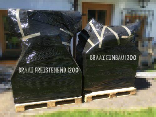 Braai Lieferung in Ohlstadt 1200er freistehend und Einbau Braai