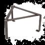 Untergestellt für Pfannen und Töpfe von Petromax aus Stahl und klappbar