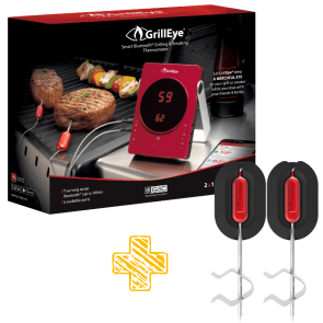 Bundle GrillEye Device plus 2 Fühler von GrillEye