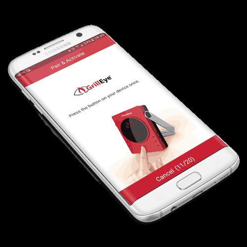GrillEye Bluetooth Thermometer App Connect für dein Handy