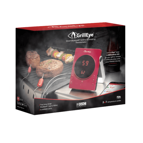 GrillEye Bluetooth Thermometer für Smartphone und Tablet