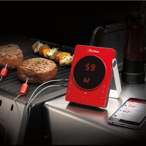 GrillEye mobile Bluetooth Thermometer für bis zu 6 Fühler