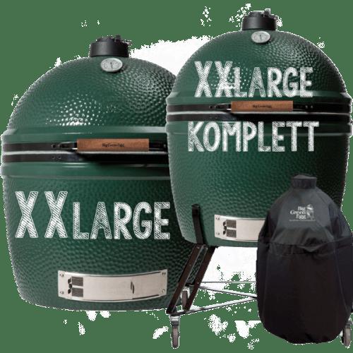 Big Green Egg Modell XXLarge & XXLarge komplett mit Untergestell, Abdeckhaube und Griff für Untergestell
