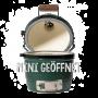 BigGreenEgg Mini geöffnet - Kamado oder auch Keramikgrill