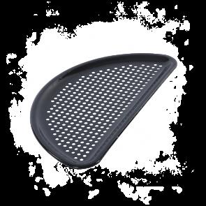 halbrund gelochte emaillierte Grillplatte passend für BigGreenEgg Modelle XXL, XL und L