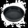 """Die runde Auffangschale von BigGreenEgg sie """"Round Drip Pan"""" kann abtropfende Flüssigkeiten Der Durchmesser ist 27 cm"""