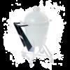 BigGreenEgg Nest Handler - Griff für das stabile Rollen des Untergestells. Passend für BGE M-XXL