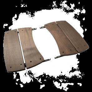 BGE Seitentische klappbar aus Holz hitzebeständig für Modell S-XL