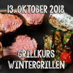 Grillkurs Wintergrillen mit Wild, Lamm, Ente, Fisch etc. im Oktober 2017 in Ohlstadt