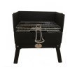 Jan Braai by HomeFires Grill in the Box mit Grillkorb und praktischem Transportkoffer