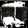Jan Braai Grill by HomeFires mit Grillkorb und praktischem Transportkoffer