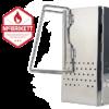 Im Starterpaket Anzündkamin klappbar von McBrikett - zusammenfalten und einfach verstauen