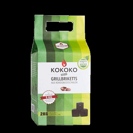 McBrikett Kokoko Grillbriketts Cubes für längeres Grillen