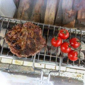 Lisa Miami 500 portabler Grill für Steak, Würstel und vieles mehr