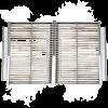 2 Grillkassetten für den ganzen Innenraum vom Merklinger zum Grillen