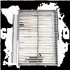 Grillkassette links Zubehör Merklinger zum Grillen ausziehbar