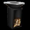 OFYR Classic in schwarz mit Holzlager - Neues Produkt 100-100