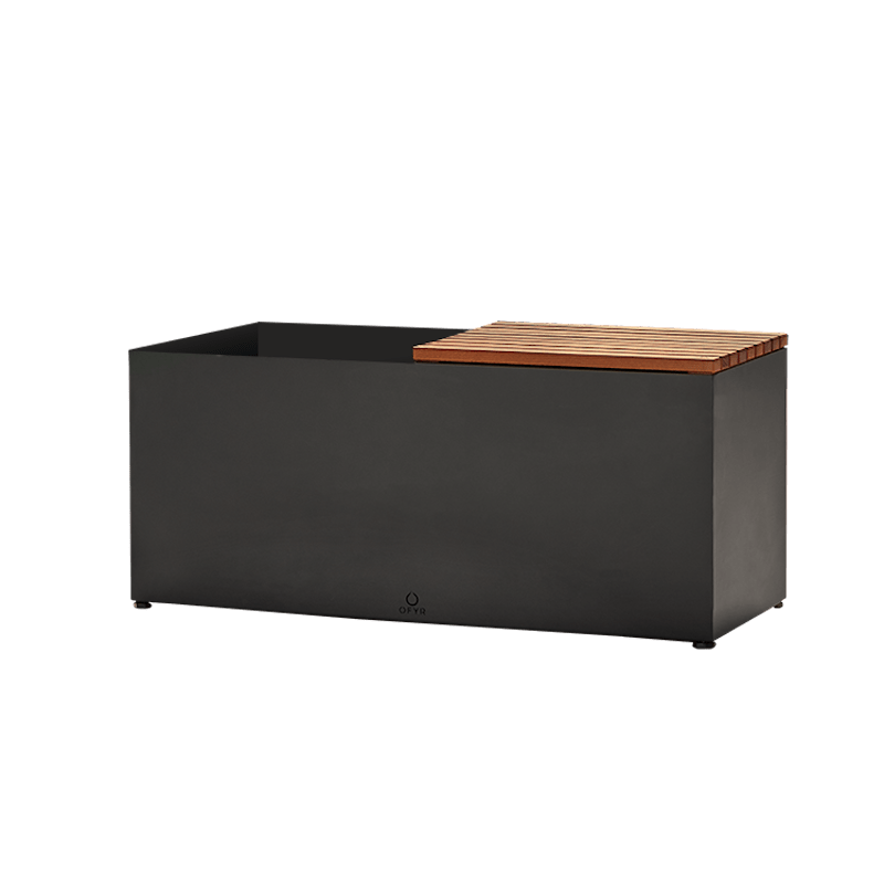 OFYR HERB GARDEN BENCH BLACK