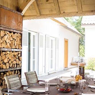 OFYR Wood Storage Corten