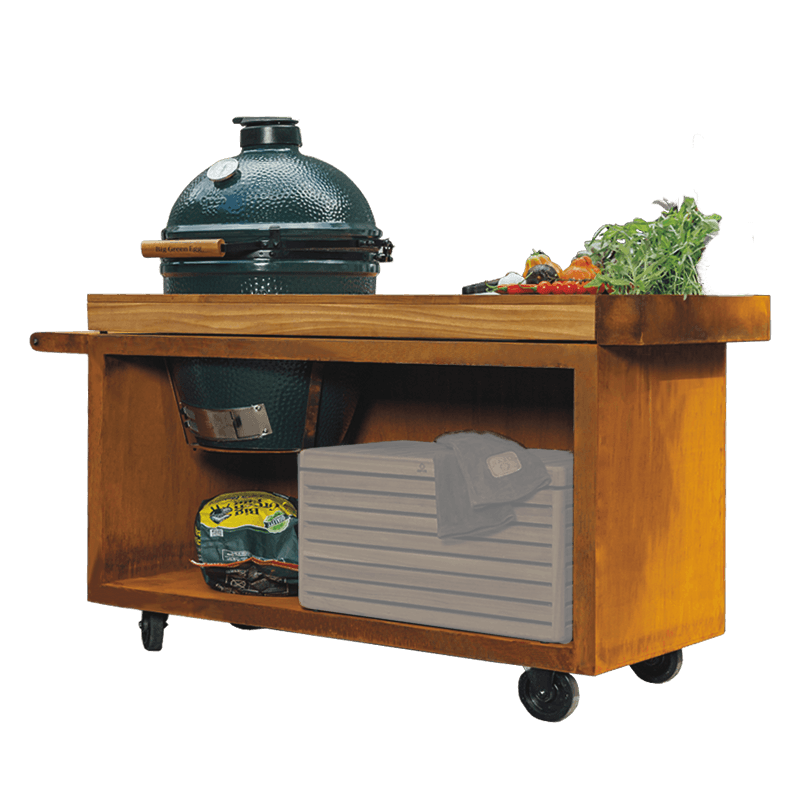 KOMBI OFYR Table & BigGreenEgg Large