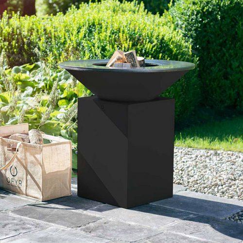 OFYR schwarz Teppanyaki ähnliche Feuerplatte 85 Durchmesser