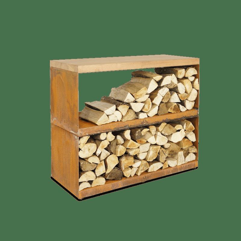 OFYR Wood Storage Corten Dressoir