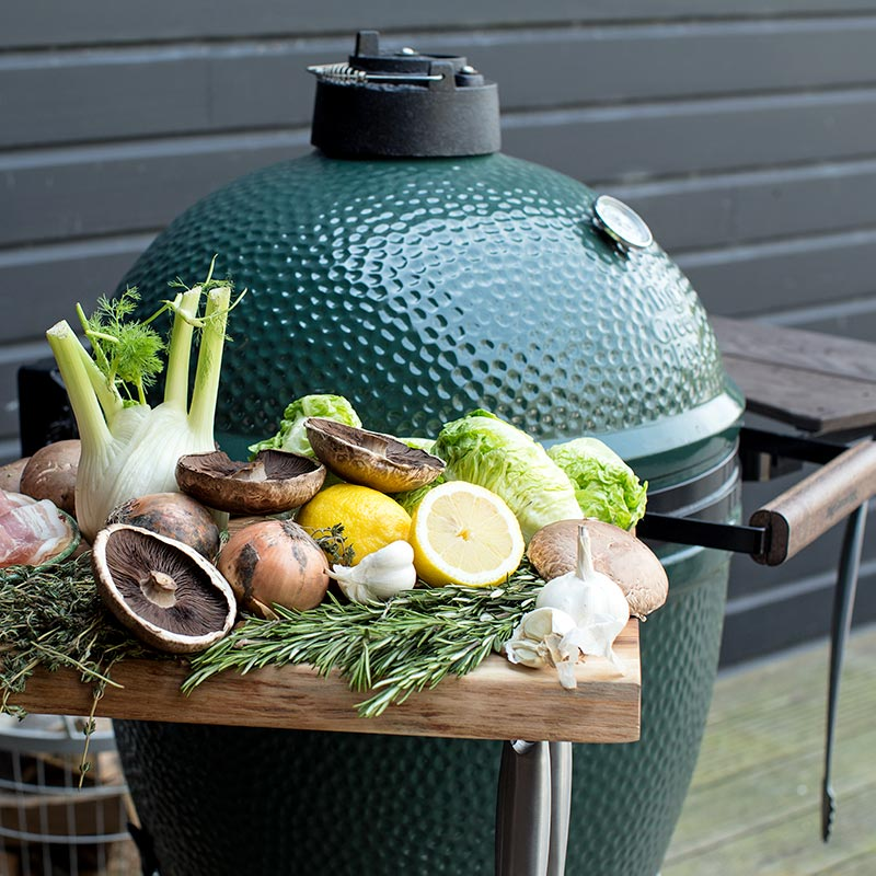 Big Green Egg Large Kamadogrill Gemüse grillen