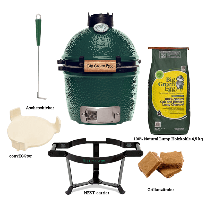 Big Green Egg Starterpaket Mini