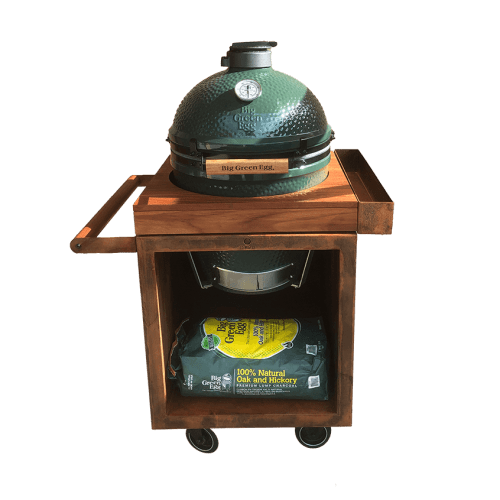 big green egg large ofyr table corten pro 65