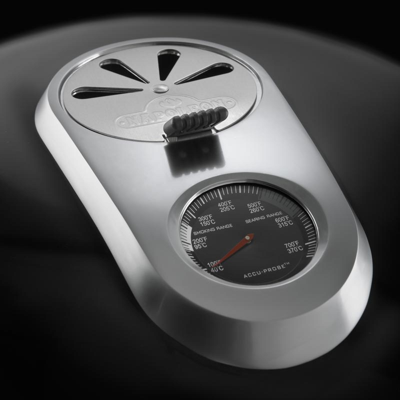 Napoleon Holzkohlegrill PRO22K LEG 2 Temperatur Probe