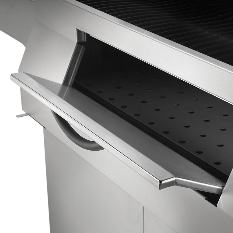 Napoleon Holzkohlegrill PRO605CSS offener Schacht