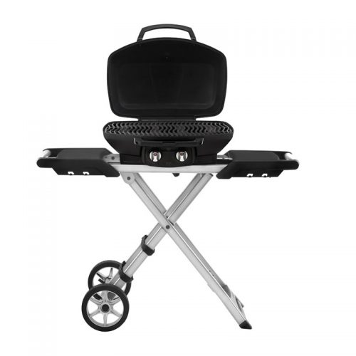 TravelQ Pro285 mobiler Gasgrill front_open