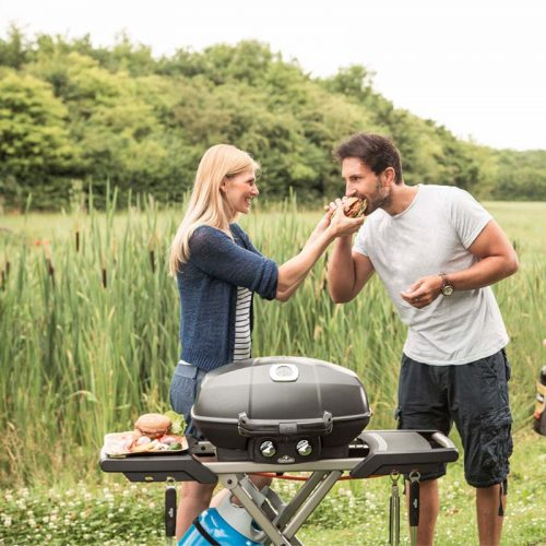 TravelQ Pro285 mobiler Gasgrill lifestyle