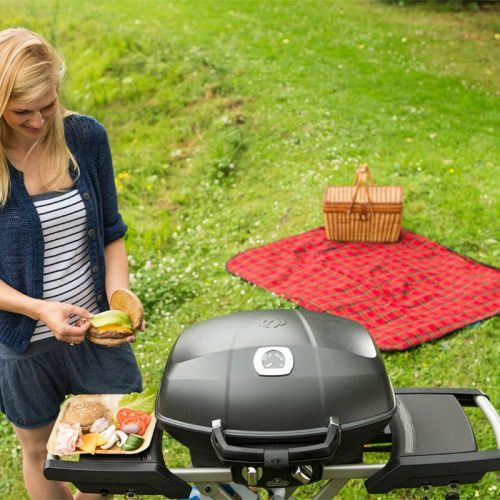 TravelQ Pro285 mobiler Gasgrill lifestyle_2