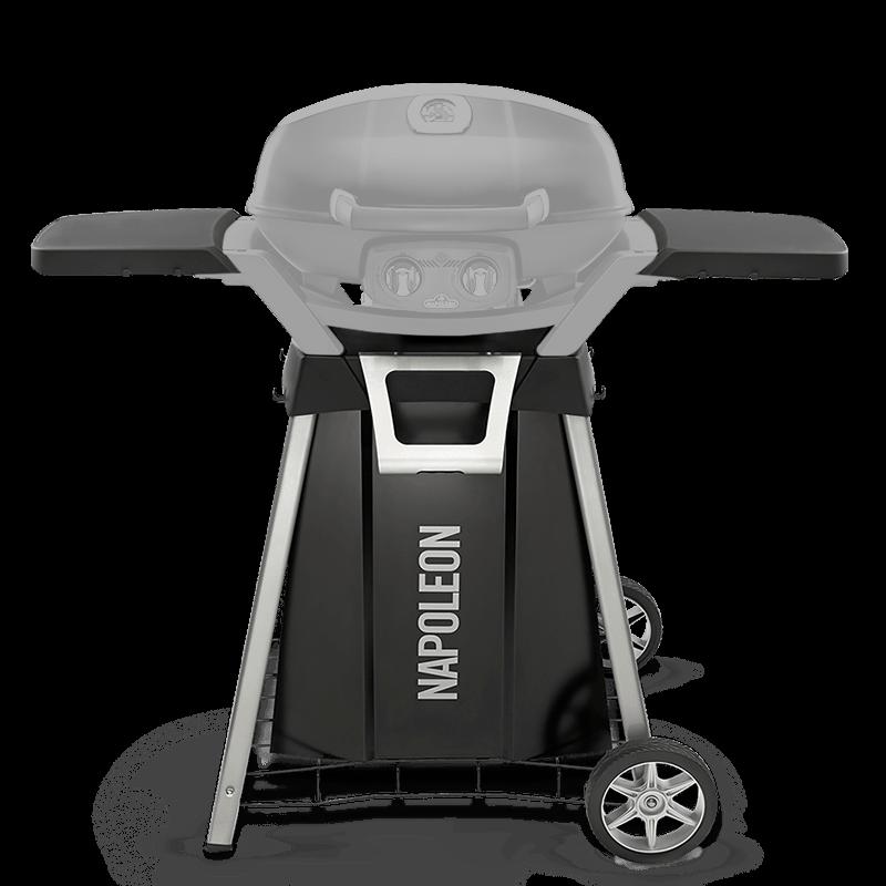TravelQ mobiler Grillwagen mit Ablage
