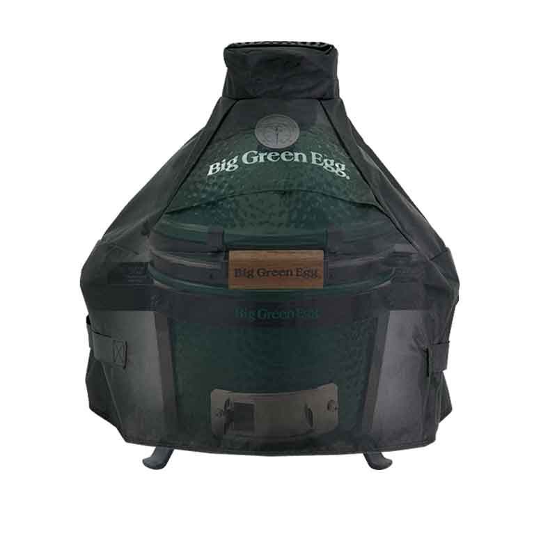 Cover Big Green Egg Mini im Tragegestell Nest